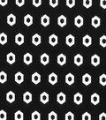 Quilter\u0027s Showcase Fabric -Black Geometric