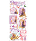 Disney Large Flat Stickers-Rapunzel