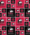 Northern Illinois Huskies Cotton Fabric 43\u0022-New Block