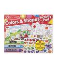 Melissa & Doug Colors & Shapes Activity Pad