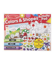 Melissa & Doug Colors & Shapes Activity Pad, , hi-res