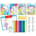 Faber-Castell Coloring With Clay-Unicorn & Friends