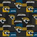 Jacksonville Jaguars Cotton Fabric -Black