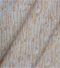Lurex Christmas Cotton Fabric-Ivory
