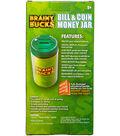 Brainy Bucks Bill & Coin Money Jar