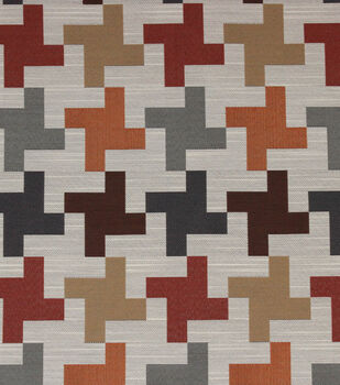 "Richloom Studio Multi-Purpose Decor Fabric 56""-Ozone/Sedona"