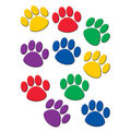 Accents Colorful Paw Prints 30/pk, Set Of 6 Packs