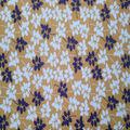 Quilter\u0027s Showcase Cotton Fabric-Golden Apricot Vine Leaves