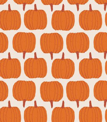 Simply Autumn 60'' Round Tablecloth-Pumpkins
