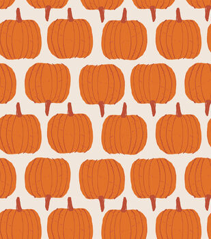 Simply Autumn 60'' Round Tablecloth-Pumpkins