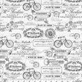 Novelty Cotton Fabric-Paris Motifs