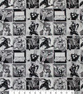 Marvel Comics Cotton Fabric 44\u0022-Cast of Characters