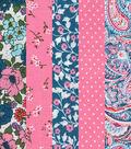 Jelly Roll Cotton Fabric 20 Strips 2.5\u0027\u0027-Vintage Paisley