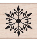 Hero Arts Wood Mounted Rubber Stamp-Small Snowflake