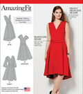 Simplicity Patterns Us1011Bb-Simplicity Misses And Plus Size Amazing Fit Dress-20W-28W