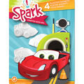 You Paint It Plaster Magnet Kits-Cars