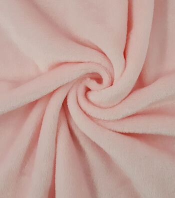 Sew Lush Fleece Fabric -Blushing Bride