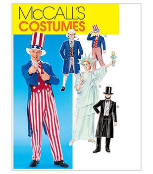 McCall's Pattern M6143 Adult & Childrens' Political Costumes