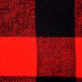 Cotton Shirting Fabric 42\u0027\u0027-Orange & Black Checked