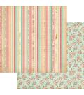 Photoplay Paper Moments in Time 12\u0027\u0027x12\u0027\u0027 Cardstock-Antique
