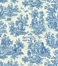 Waverly Upholstery Fabric 54\u0022-Charmed Life/Cornflower