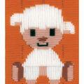 Vervaco iStitch Kits 4 Kids 5\u0027\u0027x6.4\u0027\u0027 Longstitch Kit-Lamb
