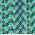 Super Snuggle Flannel Fabric-Pattern Trap Mermaid Scales