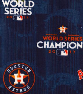 Houston Astros World Series Fleece Fabric 58''