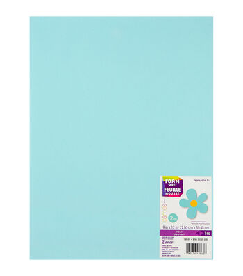 Darice Foamies Foam Sheet 2mm 9''X12'' 10pcs