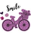 Sizzix Framelits Katelyn Lizardi Die & Stamp Set-Bicycle