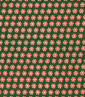 Holiday Cotton Fabric -Ditsy Peppermints