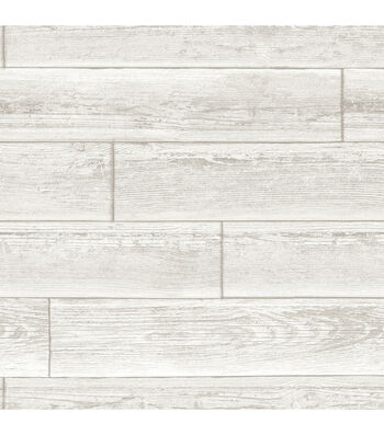 WallPops NuWallpaper Cream Serene  Paneling Peel  & Stick Wallpaper