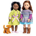 McCall\u0027s Pattern M7450 Carrier Bag, Trenchcoat, Dress & Puppy for Doll