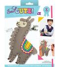 Sew Cute! Felt Backpack Clip Kit-Llama