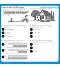 Hot Dots Learn to Solve Word Problems Set Grades 4-6