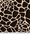 Suedecloth Fabric 57\u0027\u0027-Giraffe