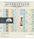 Authentique Meadow 24-sheets 6\u0027\u0027x6\u0027\u0027 Double-sided Cardstock Pad