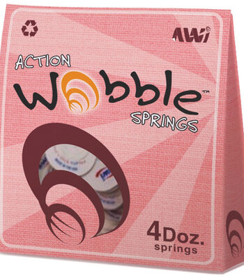 Action Wobble Springs 48 Per Package