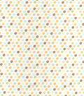 Nursery Flannel Fabric -Safari Small Dot