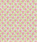 Keepsake Calico Cotton Fabric 44\u0022-Hyssop Begonia