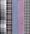 Pre-Cut Quilt Fabrics 18\u0022x21\u0022-Blue/Gray Homespuns