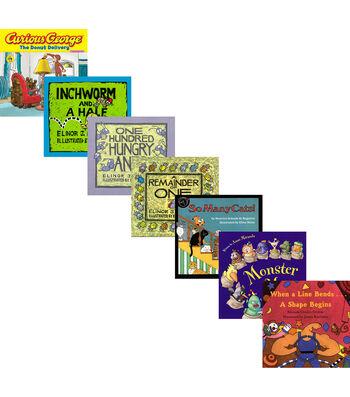 Houghton Mifflin Harcourt Math Literature Kit, Set of 7