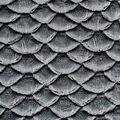 Yaya Han Collection Metallic Textured Scales-Silver