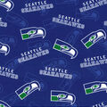 Seattle Seahawks Cotton Fabric-Legacy