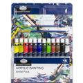 Royal Langnickel Acrylic Paint Artist Pack