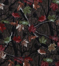 Novelty Cotton Fabric-Fall Leaves Camouflage
