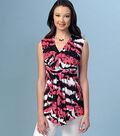 Kwik Sew Pattern K4160 Misses\u0027 Gathered Front Tops-Size XS-S-M-L-XL