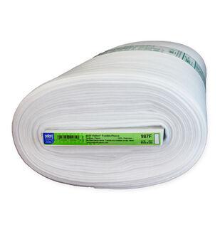 Pellon 987F Fusible Fleece Fabric 45''x10 yds-White