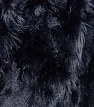 Fashion Faux Husky Fur Fabric 57 Black