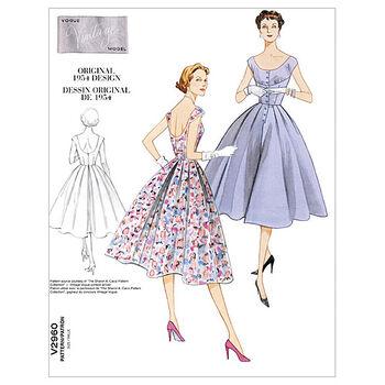 Vogue Patterns Misses Dress-V2960